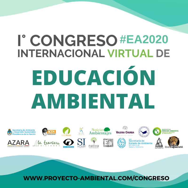 1° Congreso Virtual de Educación Ambiental online