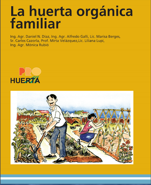 "Manual: ""La huerta orgánica familiar"""